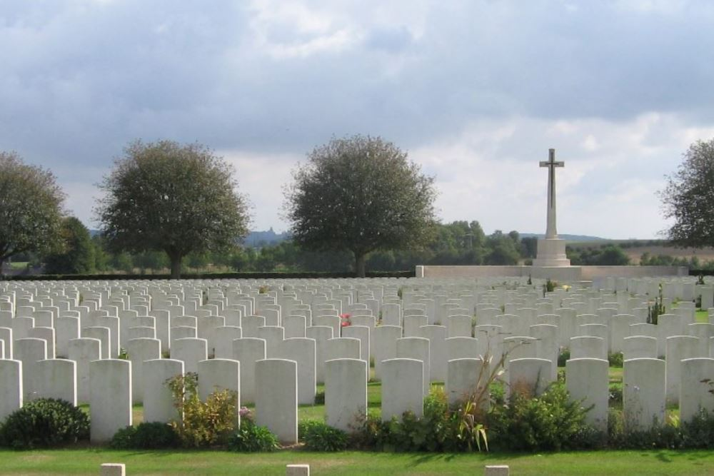 Commonwealth War Graves Aubigny