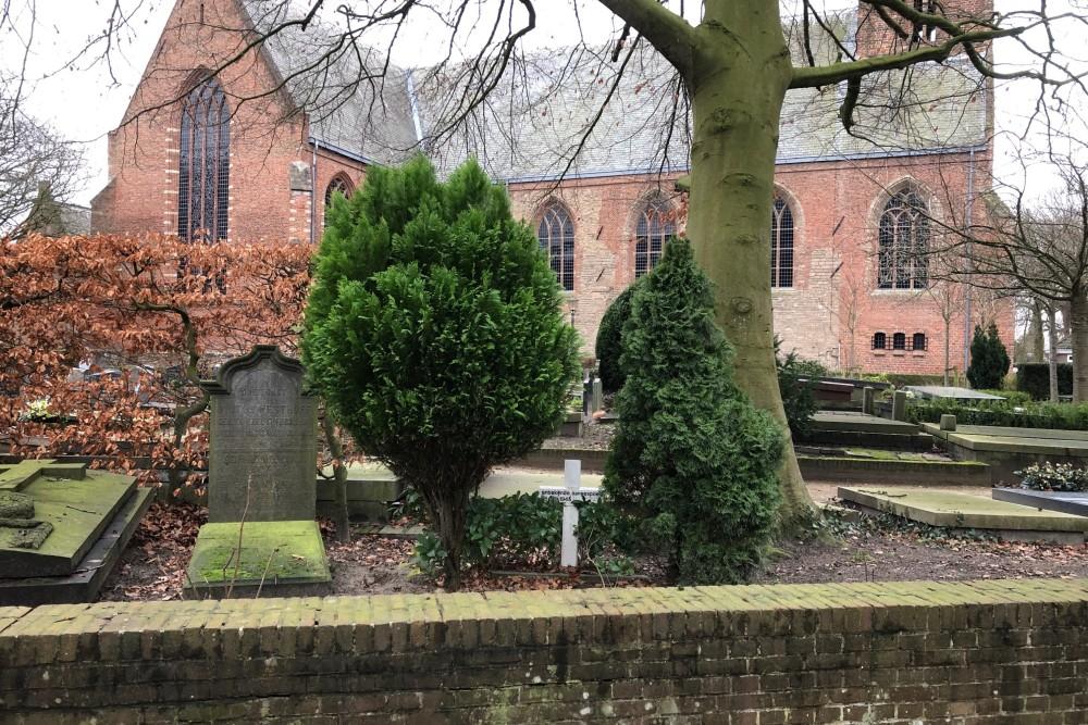 Nederlandse Oorlogsgraven Nederlands Hervormde Begraafplaats Wassenaar