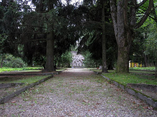 Soviet War Cemetery Szczytno