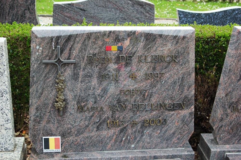 Graven Oudstrijders Nieuwe Begraafplaats Pamel