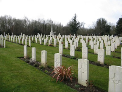 Commonwealth War Graves Tidworth Military Cemetery