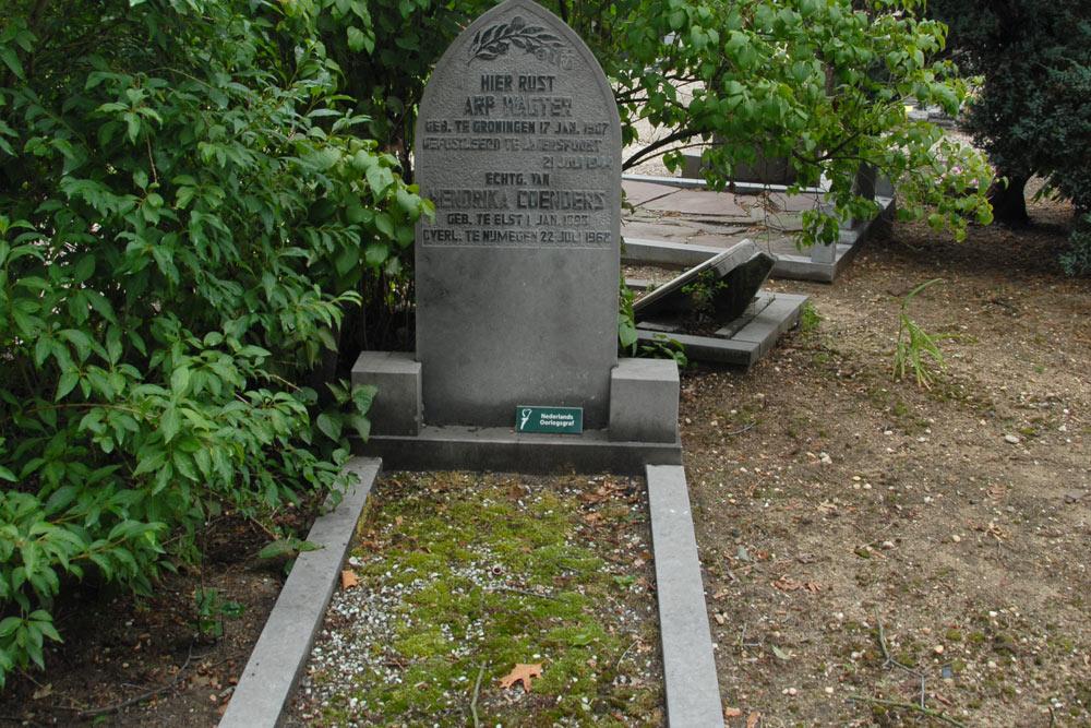 Nederlandse Oorlogsgraven Nederlands Hervormde Begraafplaats Rustoord Nijmegen