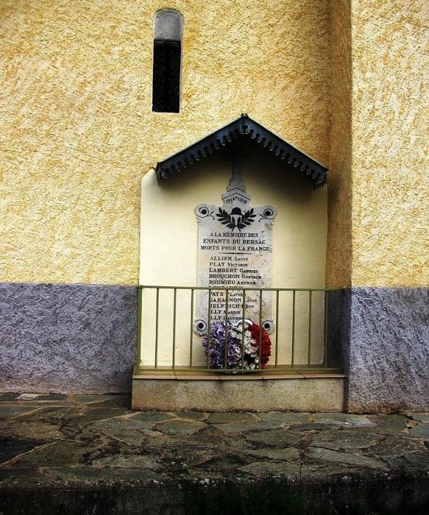 World War I Memorial Le Bersac