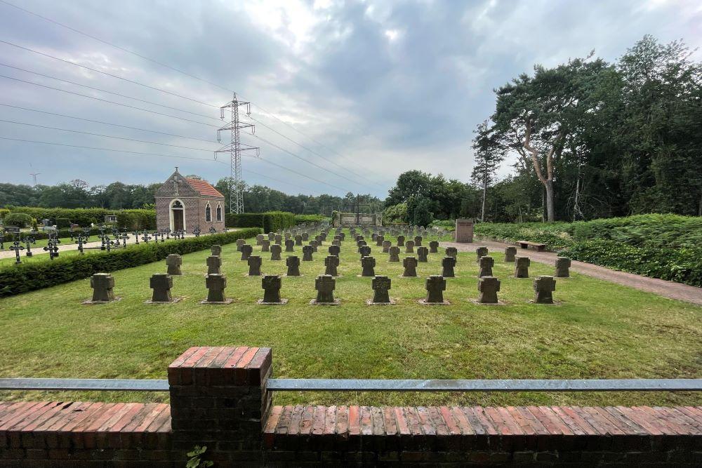 War Cemetery Neuenkirchen St Arnold