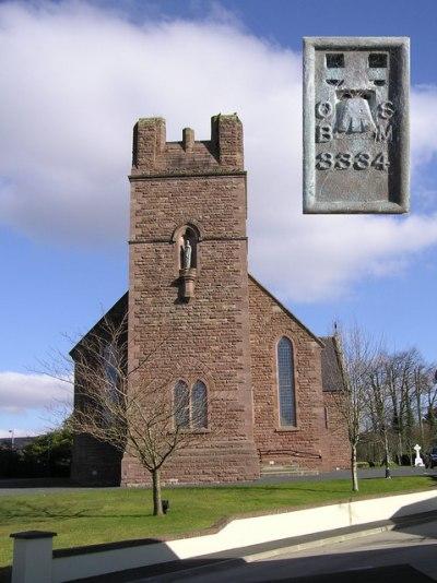 Oorlogsgraf van het Gemenebest Sacred Heart Roman Catholic Churchyard