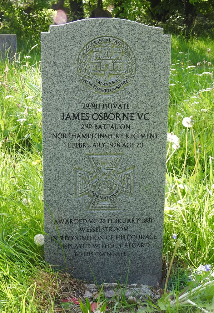 Grave of James Osborne VC