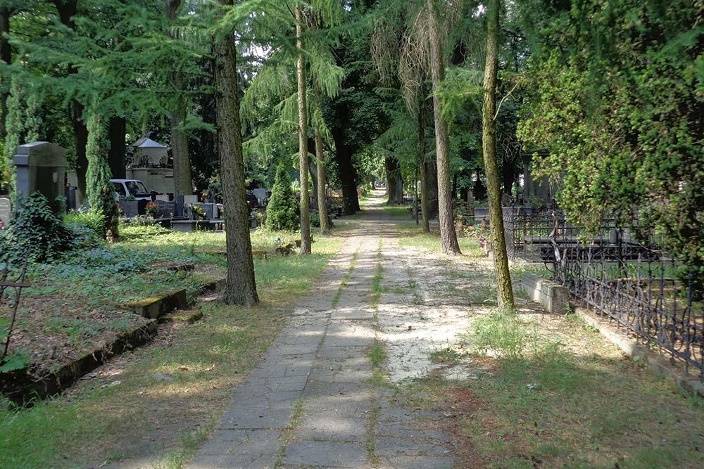 Pools Oorlogsgraven Oude Begraafplaats Lodz