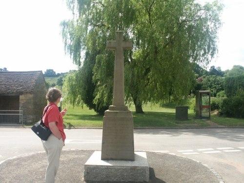 War Memorial Whichford