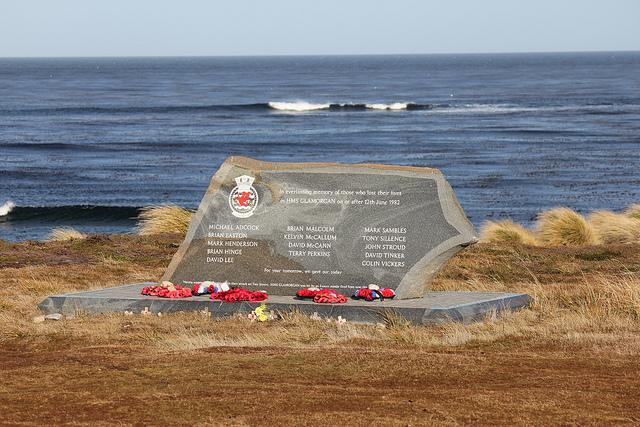 Monument HMS Glamorgan