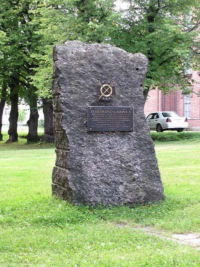 Memorial 'Jaeger battalion 6'