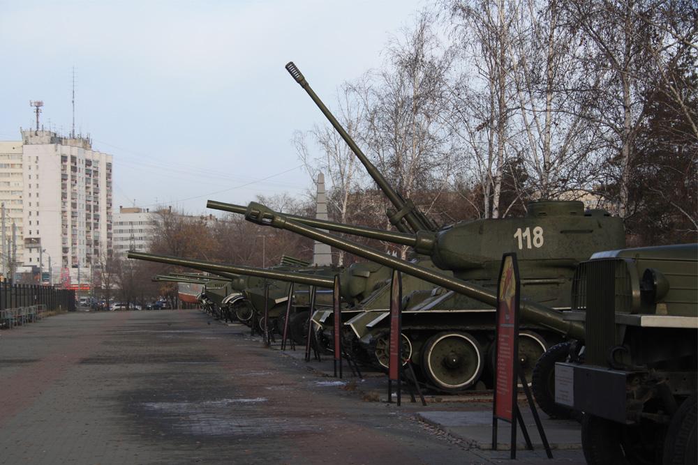 Openluchttentoonstelling Chelyabinsk