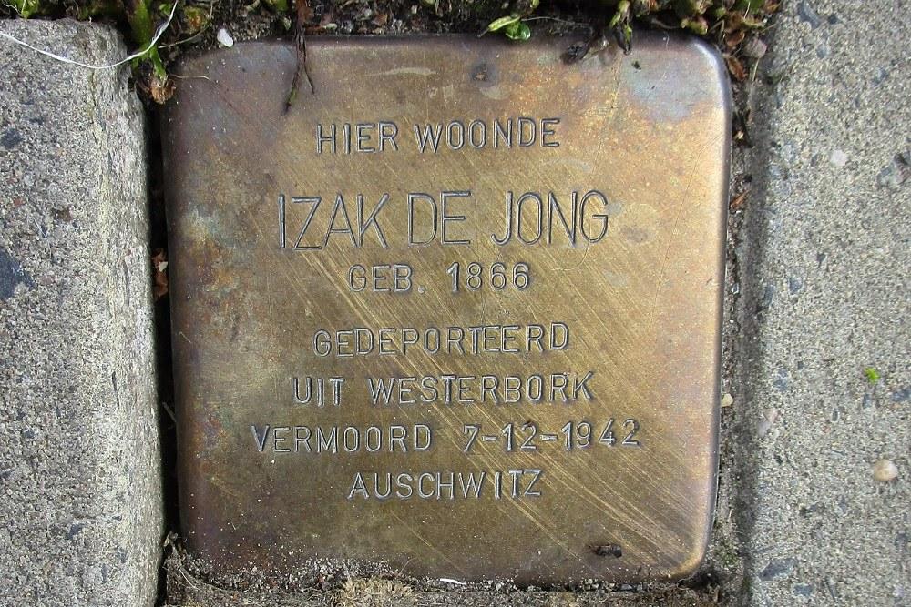 Remembrance Stone Dwarsstraat 2