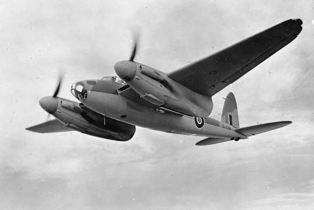 Crashlocatie De Havilland Mosquito Mk.IV DZ458 XD