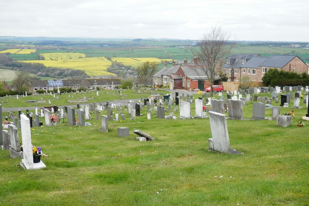 Commonwealth War Graves Prudhoe New Cemetery