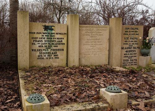 Dutch War Graves Zorgvlied Cemetery