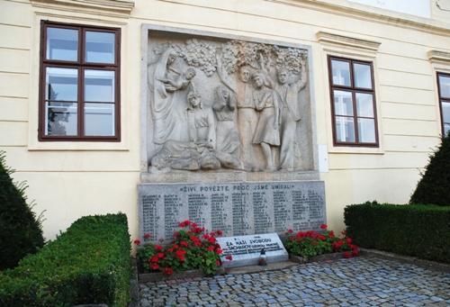 War Memorial Hrotovice