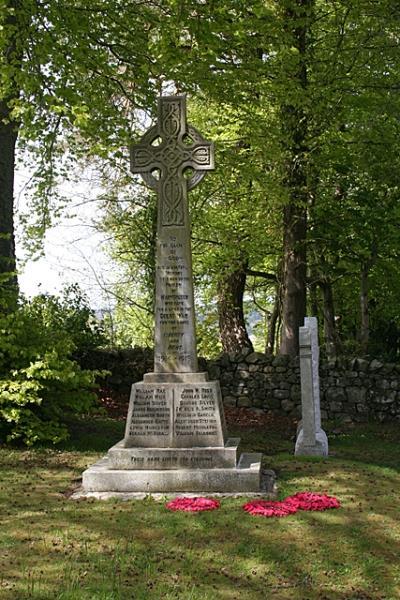 War Memorial Kirkton of Maryculter