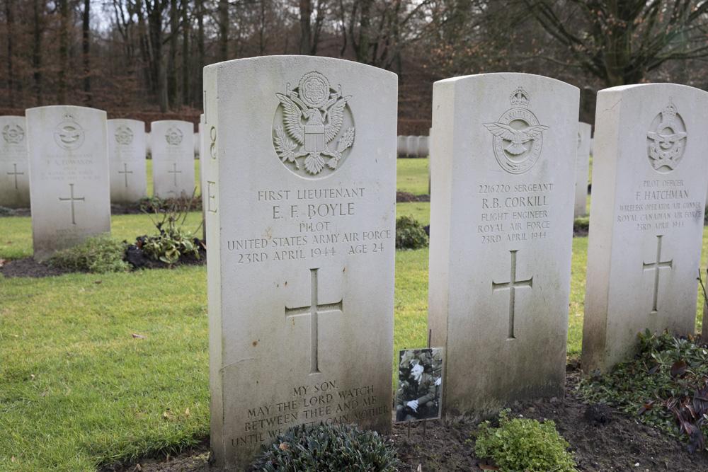 Amerikaanse Oorlogsgraven Reichswald Forest Cemetery
