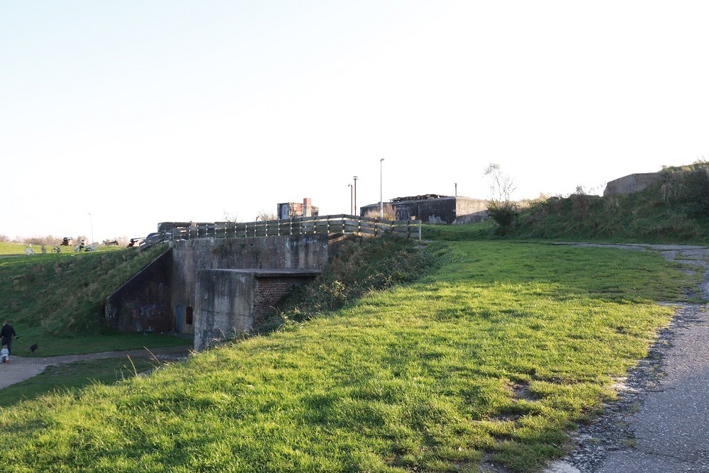 Duitse Bunker FL244 Atlantikwall - Fort Dirks Admiraal