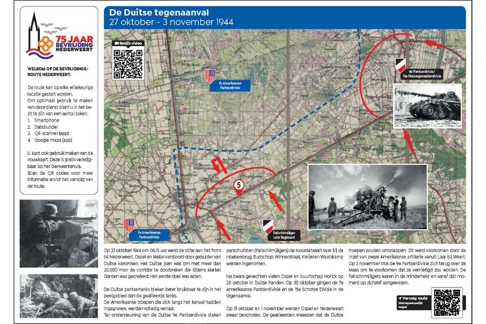 Liberation Route Location 5 - The German Counterattack
