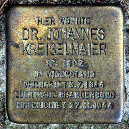 Stumbling Stone Goethestraße 3
