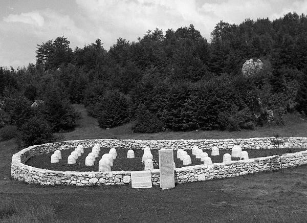 Partisan Cemetery Vojsko