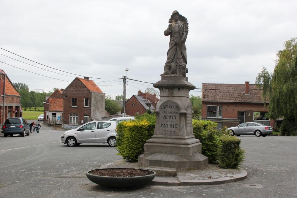 War Memorial Esplechin