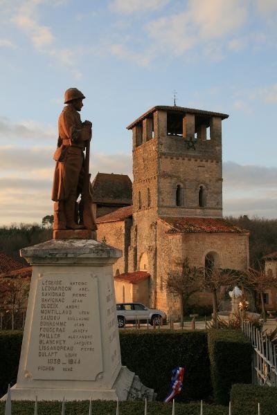 War Memorial Siorac-de-Ribérac