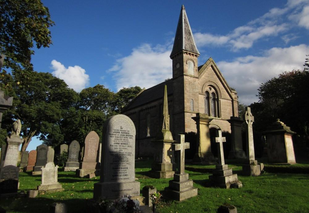 Commonwealth War Graves Tweedmouth Cemetery