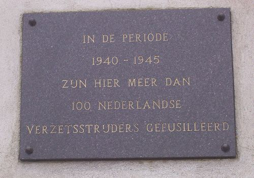 Dutch Plaque Execution Range Sachsenhausen