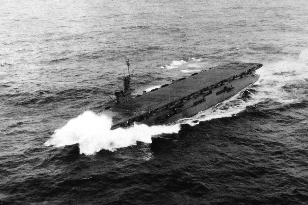 Scheepswrak USS Bismarck Sea (CVE-95)