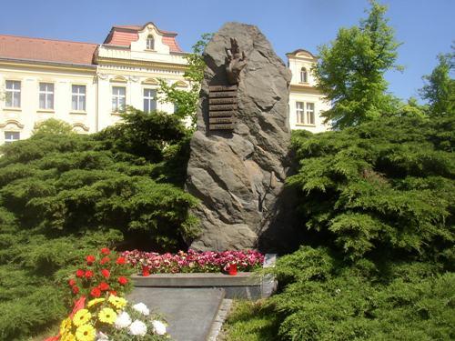 Memorial Victims National Socialism Slaný