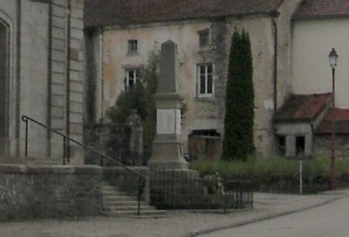Oorlogsmonument Gruey-lès-Surance