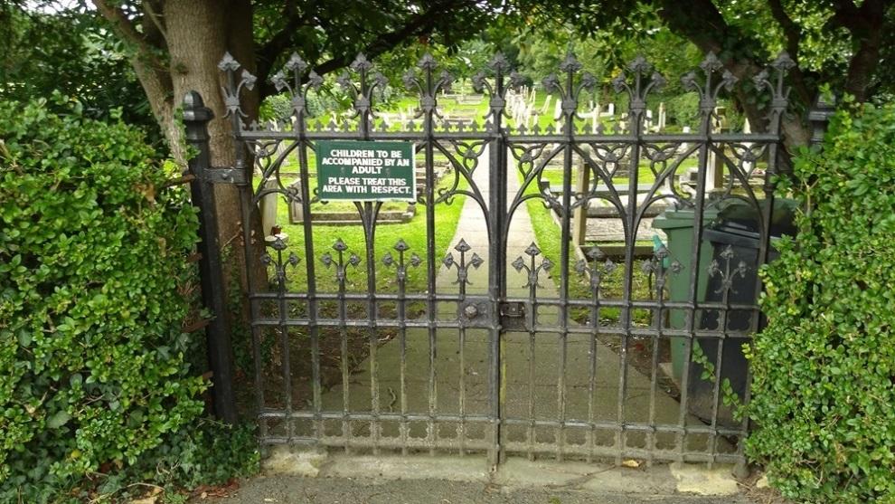 Oorlogsgraven van het Gemenebest South Luffenham Cemetery