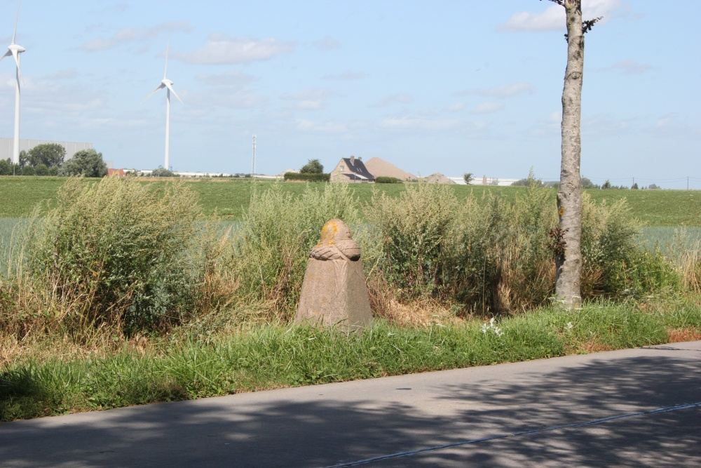 Demarcation Pole 22 Ypres