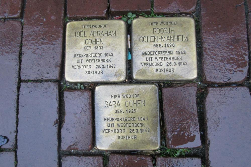 Stumbling Stones Kerkstraat 4