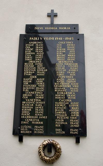 War Memorial Cerkvenjak