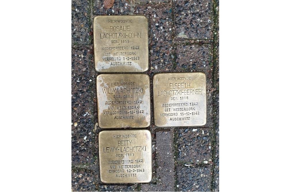 Stumbling Stones Kloveniersburgwal 53-3