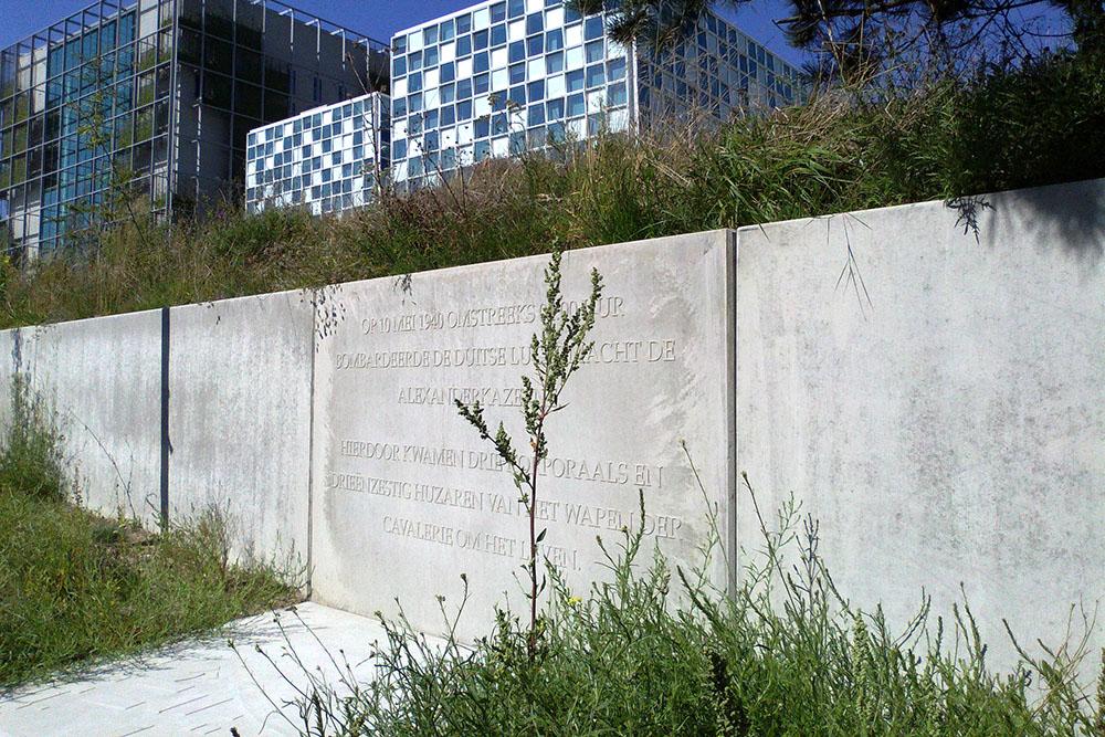 Monument Bombardement Alexanderkazerne 10 mei 1940