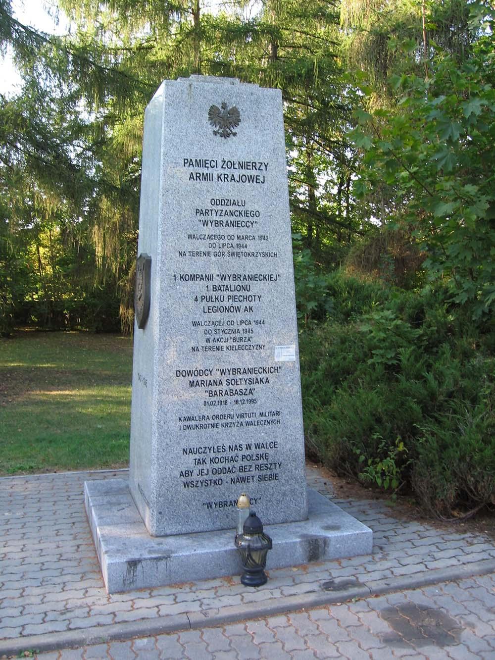 Monument Armia Krajowa Kielce
