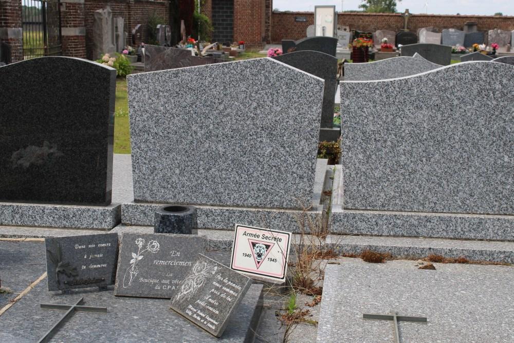 Veteran War Graves Blicquy