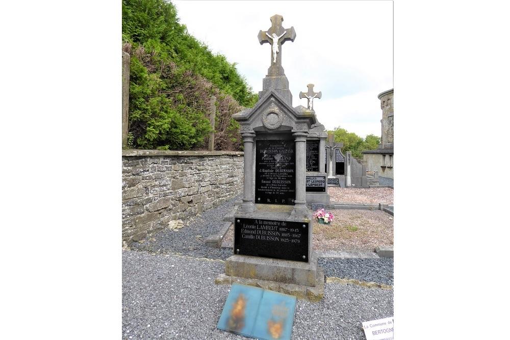 Belgian War Grave Flamierge