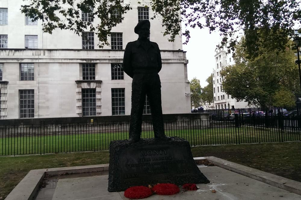 Standbeeld Field Marshall Montgomery