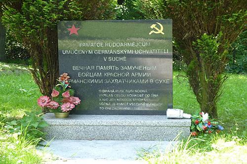 Mass Grave Soviet Soldiers Prostredni Sucha