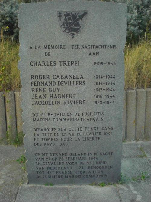 Monument Franse Commando's