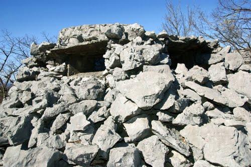 Alpenmuur - Mitrailleursnest Grobnik (A)