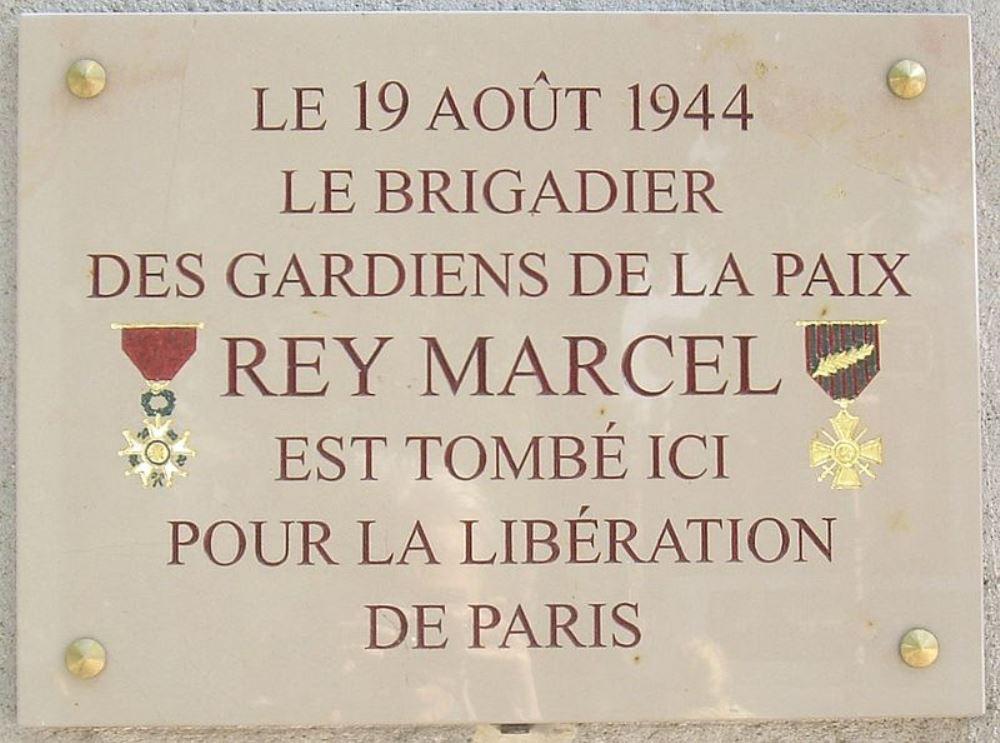 Plaquette Marcel Rey