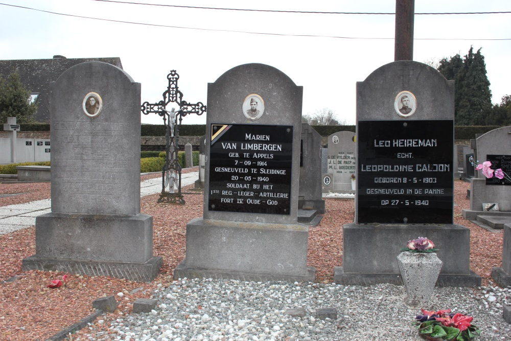 Belgische Oorlogsgraven Appels