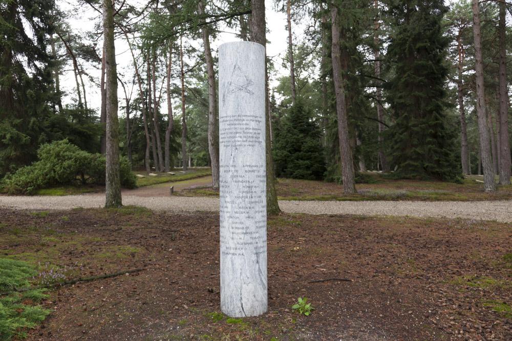 Monument Slachtoffers Tarakan 1942 Nederlands Ereveld Loenen