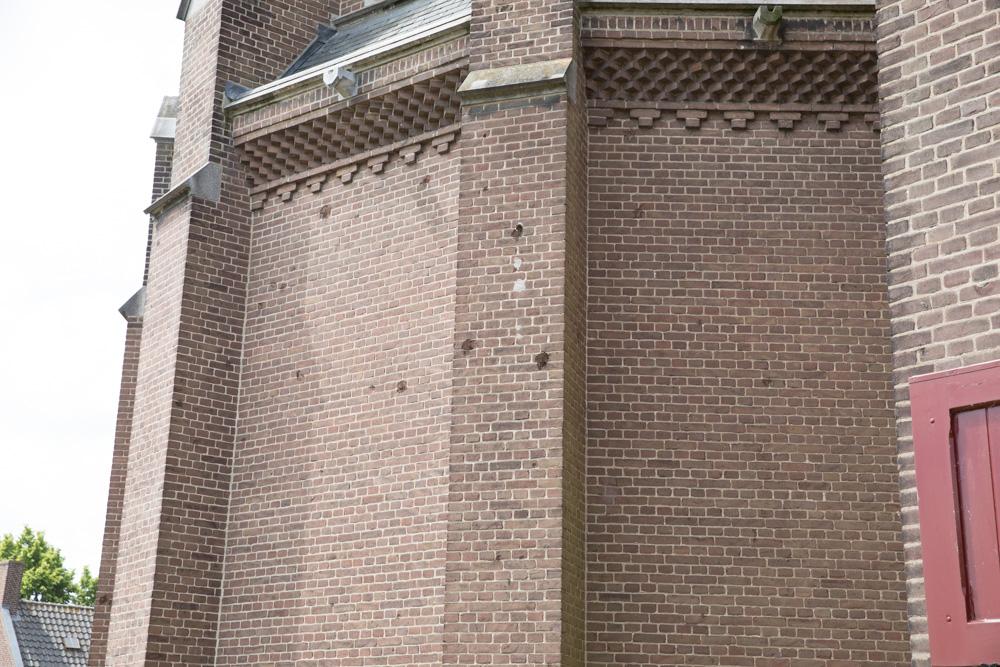 Oorlogsschade Sint-Martinuskerk